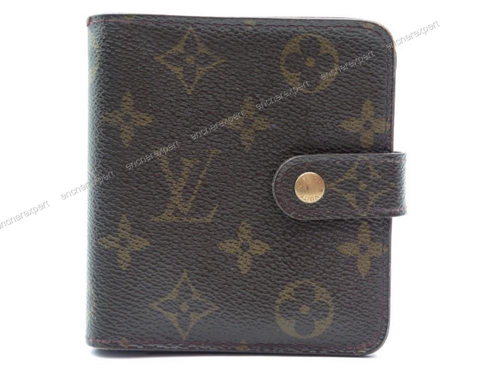 39744fab89d0 Vintage portefeuille LOUIS VUITTON viennois porte - Authenticité garantie -  Visible en boutique