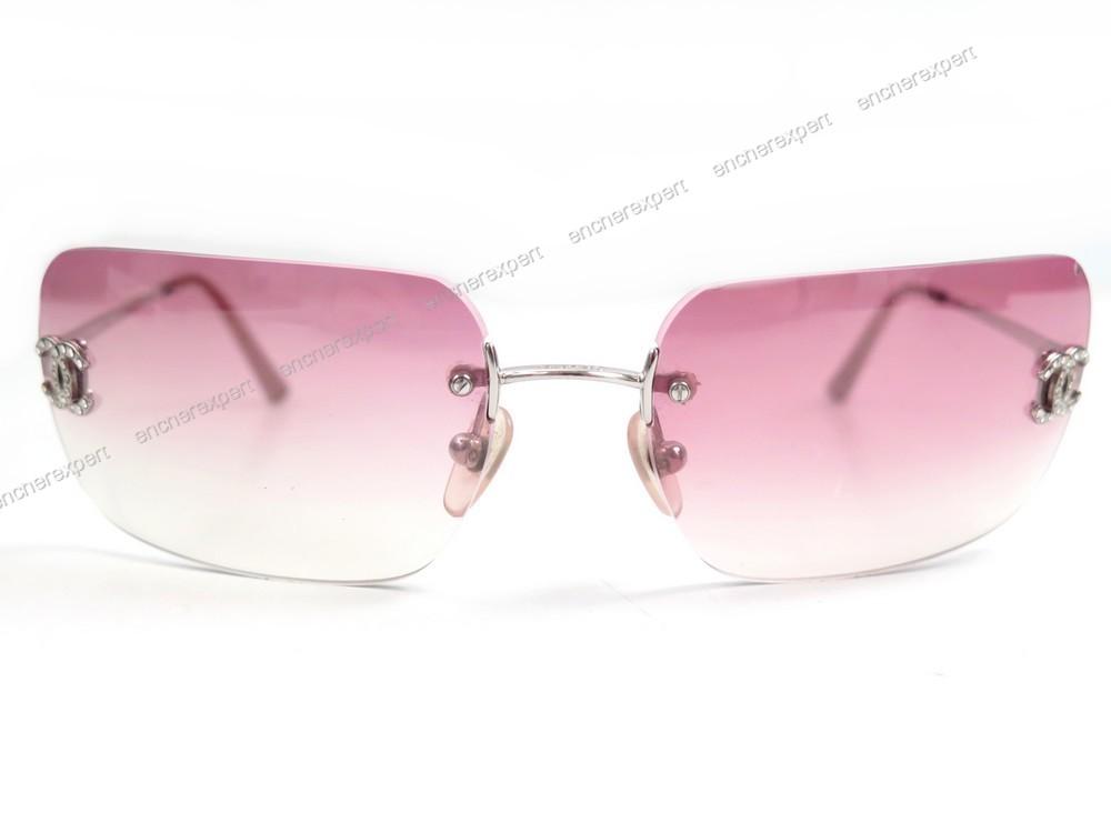 e595d3a2141b9 Lunettes de soleil CHANEL 4017 d c.124 58 logo - Authenticité garantie -  Visible en boutique