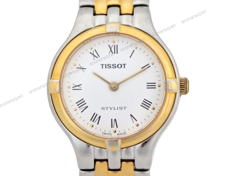 montre tissot stylist v135 235 femme 25 mm quartz authenticit garantie visible en boutique. Black Bedroom Furniture Sets. Home Design Ideas