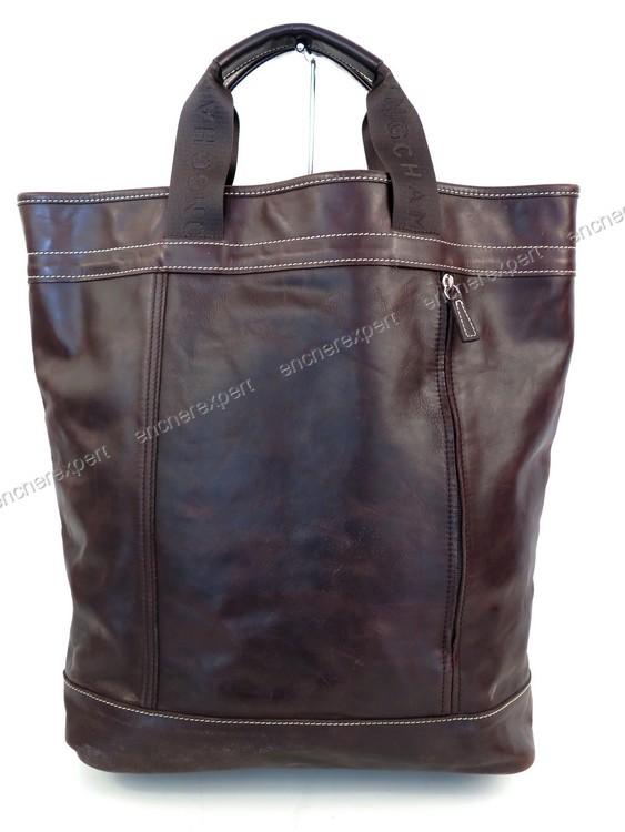 Autenticità Cavalier Cm pelle in 32 Longchamp Bag Tote 7aWWnv
