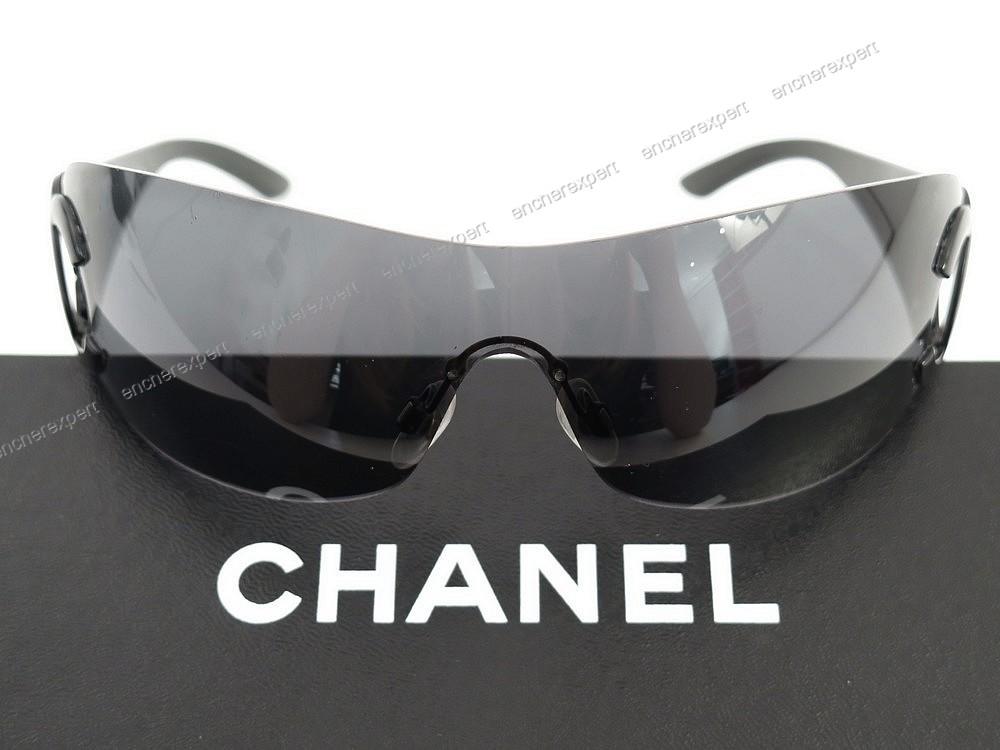 4189a836d70236 Lunettes de soleil CHANEL 4125 c.101 87 logo femme - Authenticité garantie  - Visible en boutique