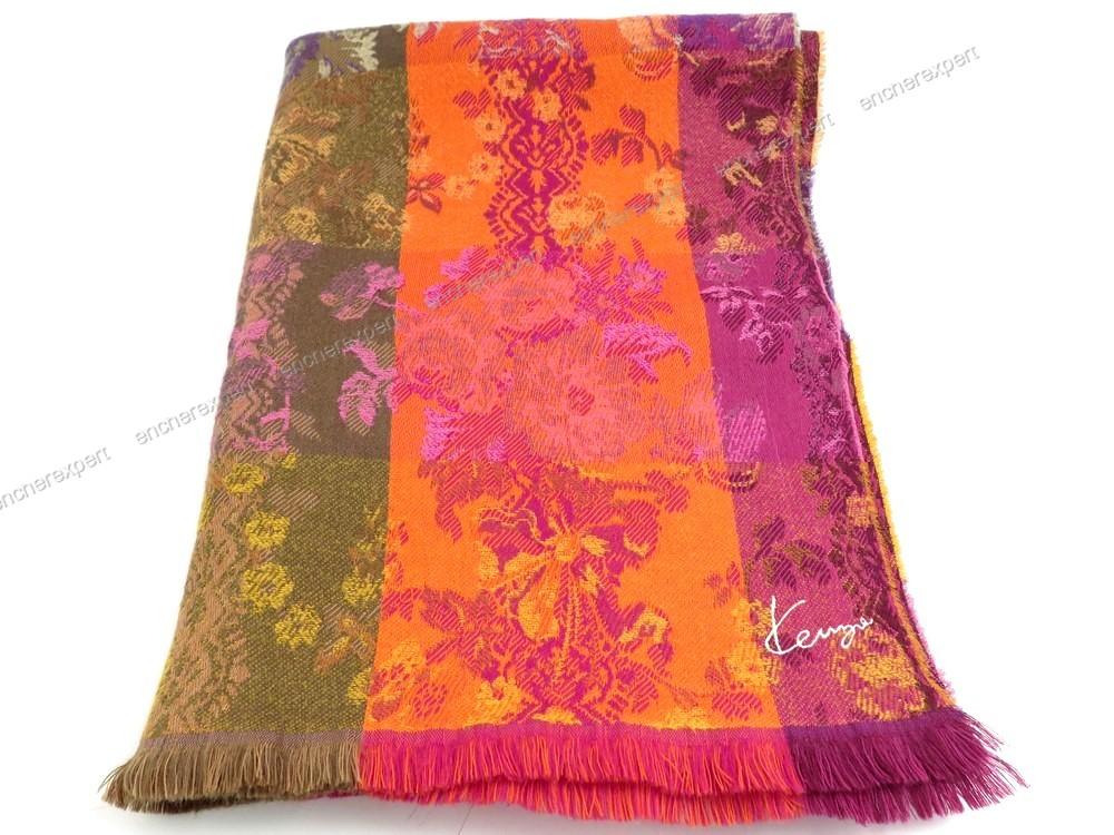 22d1791bf13 Neuf etole echarpe kenzo foulard en laine - Authenticité garantie - Visible  en boutique