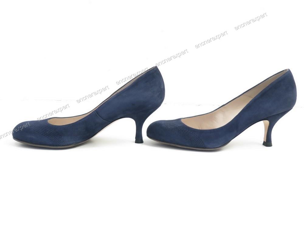 chaussures l k bennett thurloe escarpins 40 daim authenticit garantie visible en boutique. Black Bedroom Furniture Sets. Home Design Ideas