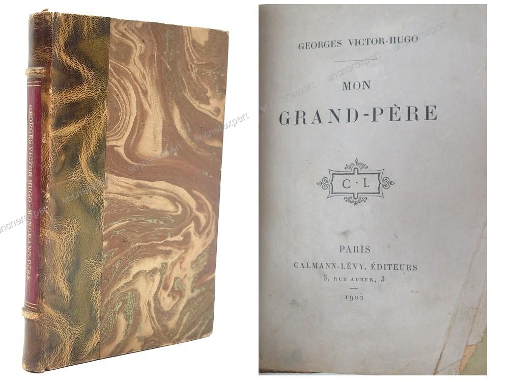 Livre Ancien Georges Victor Hugo Mon Grand Pere
