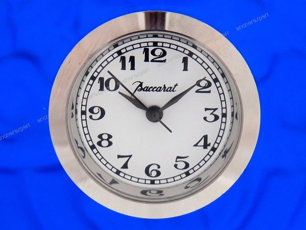 horloge pendulette baccarat art deco dlg lalique authenticit garantie visible en boutique. Black Bedroom Furniture Sets. Home Design Ideas