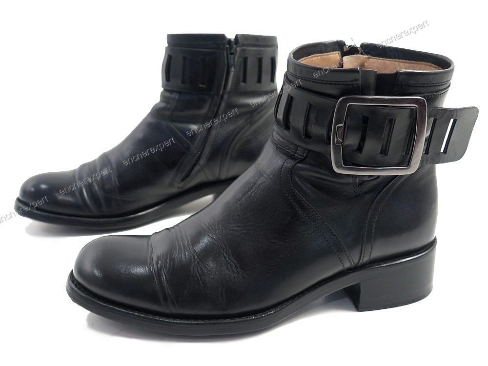 chaussures free lance bottines 3 5 36 5 37 cuir authenticit garantie visible en boutique. Black Bedroom Furniture Sets. Home Design Ideas