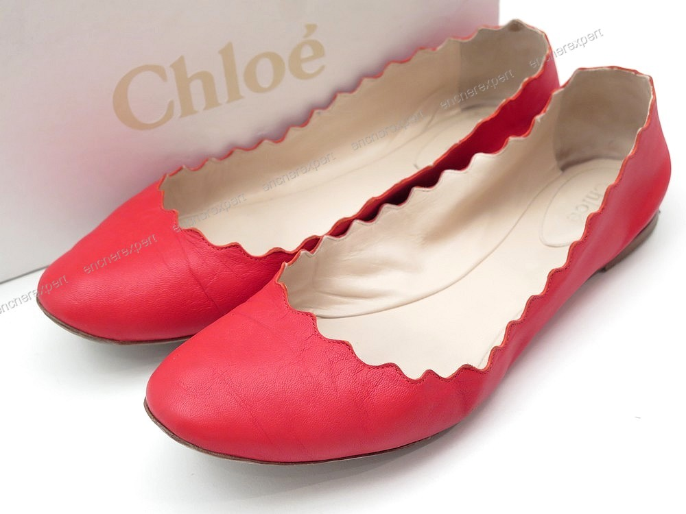 Chaussures Dentelees Authenticité 39 Chloe Lauren Ballerines qLMSzUVpG