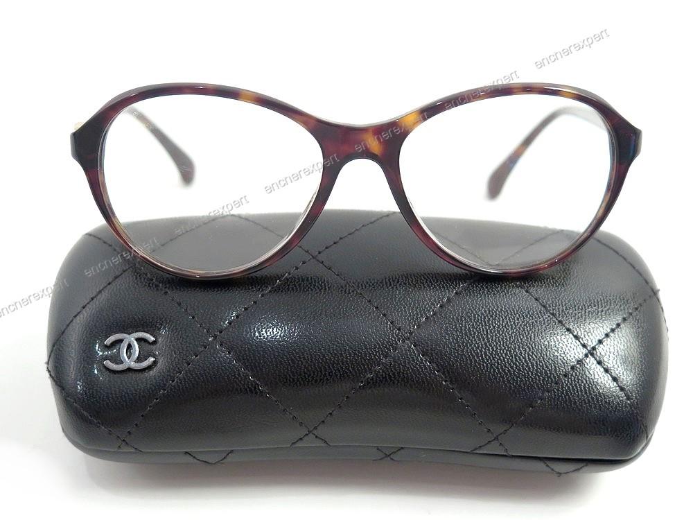 1899277542d077 Monture CHANEL 3226 c.714 135 lunettes femme logo - Authenticité garantie -  Visible en boutique