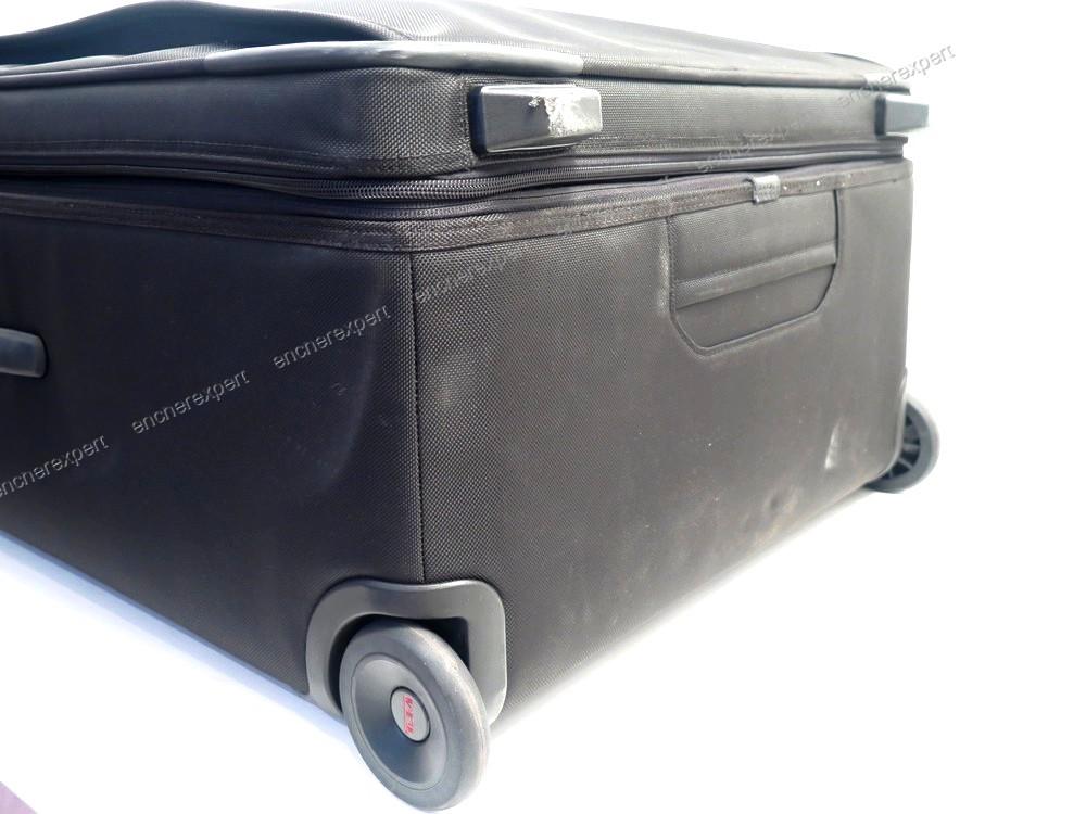 grande valise tumi alpha 2 80 cm toile noire sac authenticit garantie visible en boutique. Black Bedroom Furniture Sets. Home Design Ideas