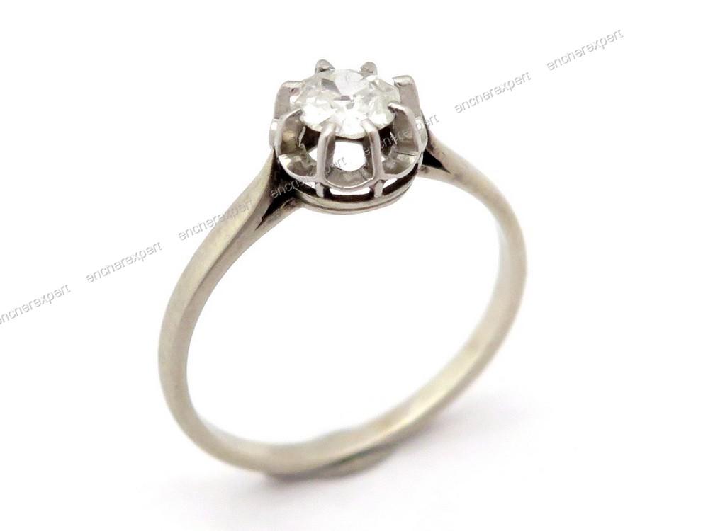 estimation bague solitaire diamant