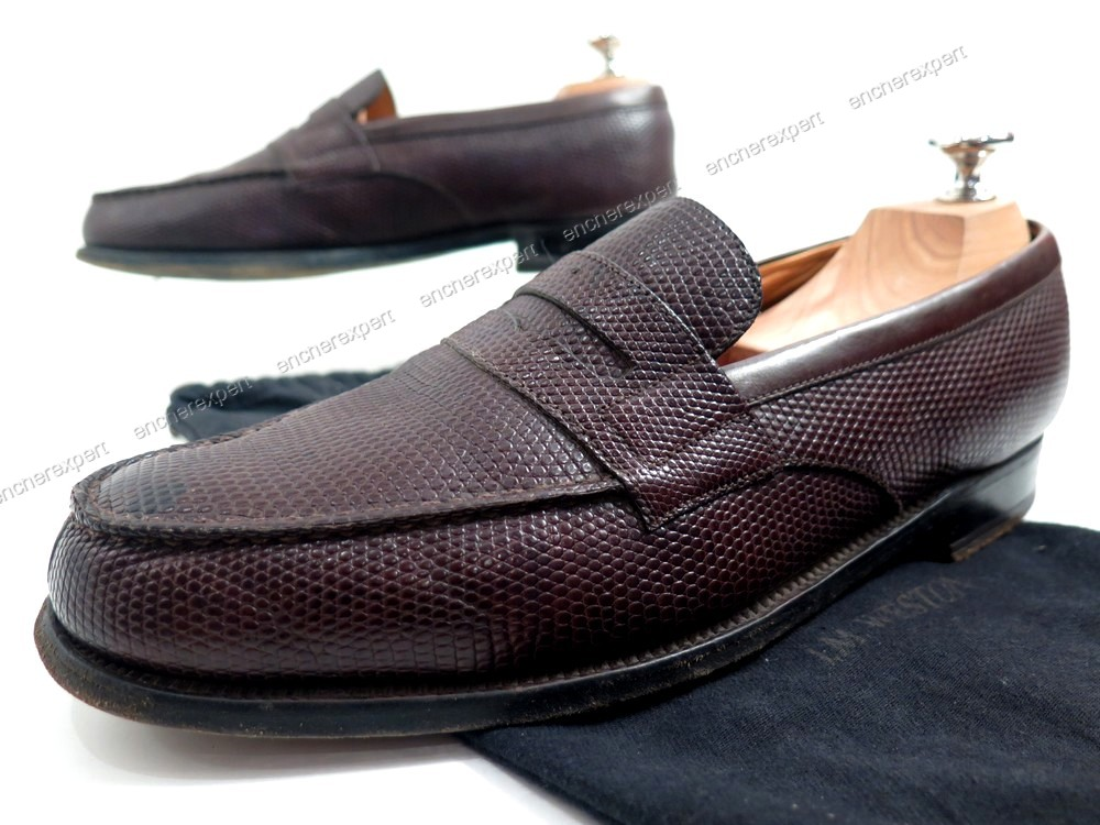 Chaussures jm weston mocassins 180 7.5c 41 41.5 - Authenticité ... 7e829b0be9a
