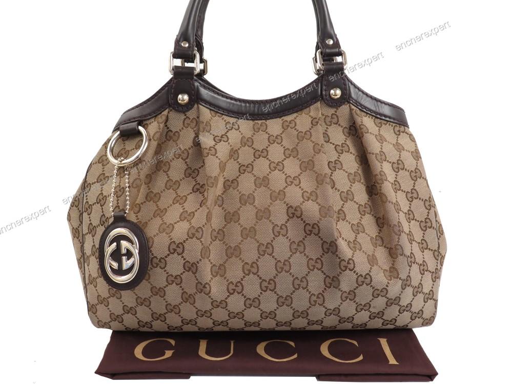 6d92983ab1 Sac a main gucci sukey moyen 211944 cabas shopping - Authenticité garantie  - Visible en boutique