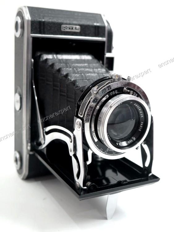 appareil photo argentique soufflet royer f100 authenticit garantie visible en boutique. Black Bedroom Furniture Sets. Home Design Ideas