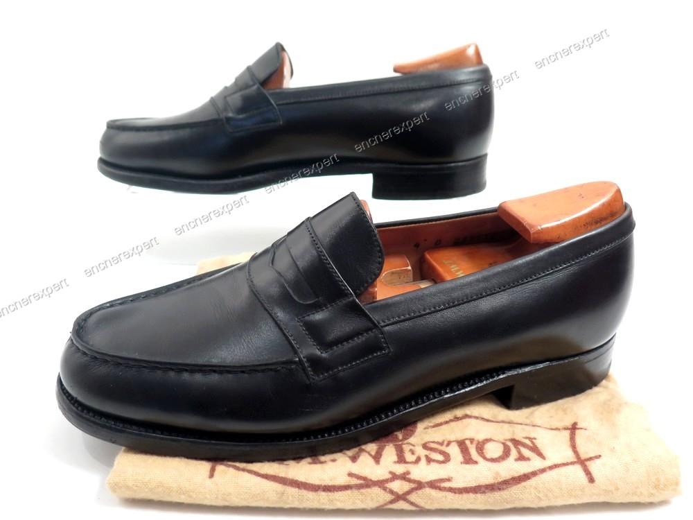 mieux aimé 9637b f0f61 Chaussures jm weston 180 mocassins 4d 37 cuir - Authenticité ...