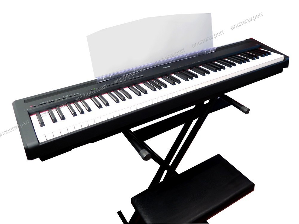 clavier synthetiseur piano numerique yamaha p 95b. Black Bedroom Furniture Sets. Home Design Ideas