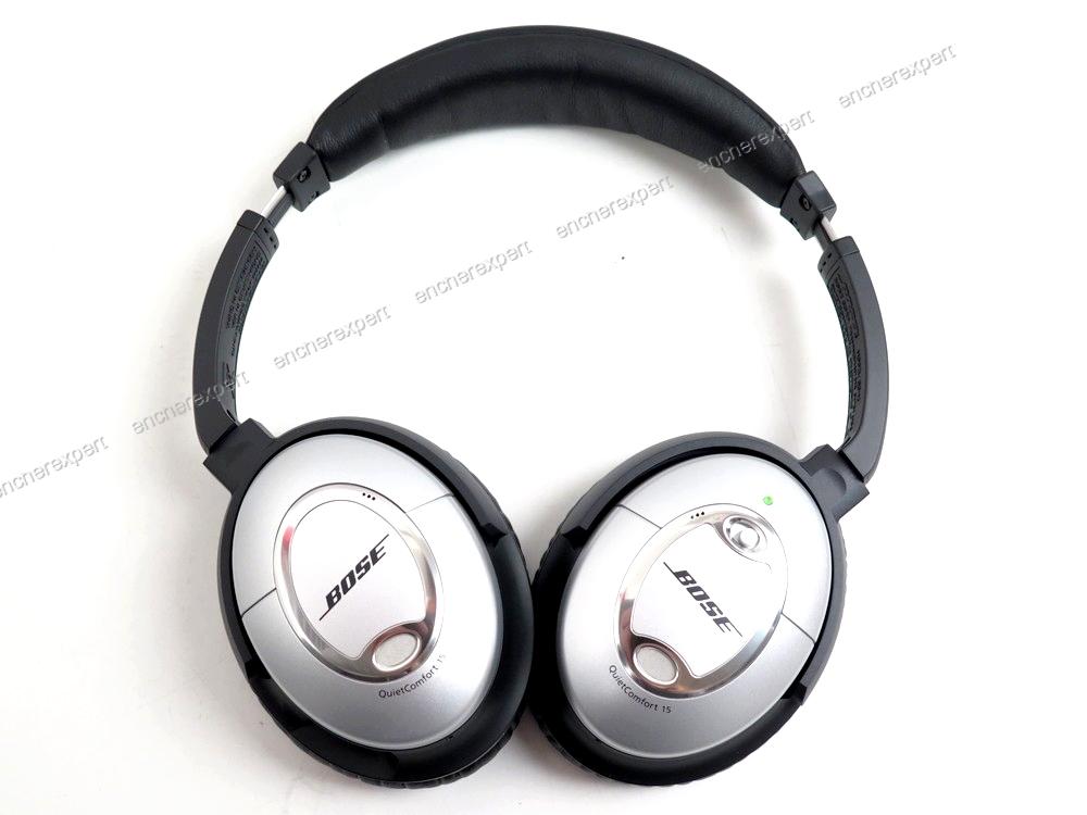 neuf casque audio ferme bose qc15 reducteur de authenticit garantie visible en boutique. Black Bedroom Furniture Sets. Home Design Ideas