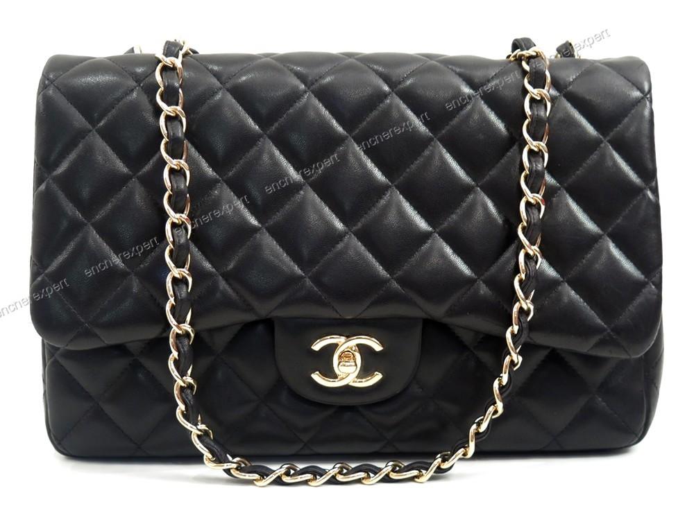 neuf sac a main chanel timeless jumbo cuir authenticit garantie visible en boutique. Black Bedroom Furniture Sets. Home Design Ideas