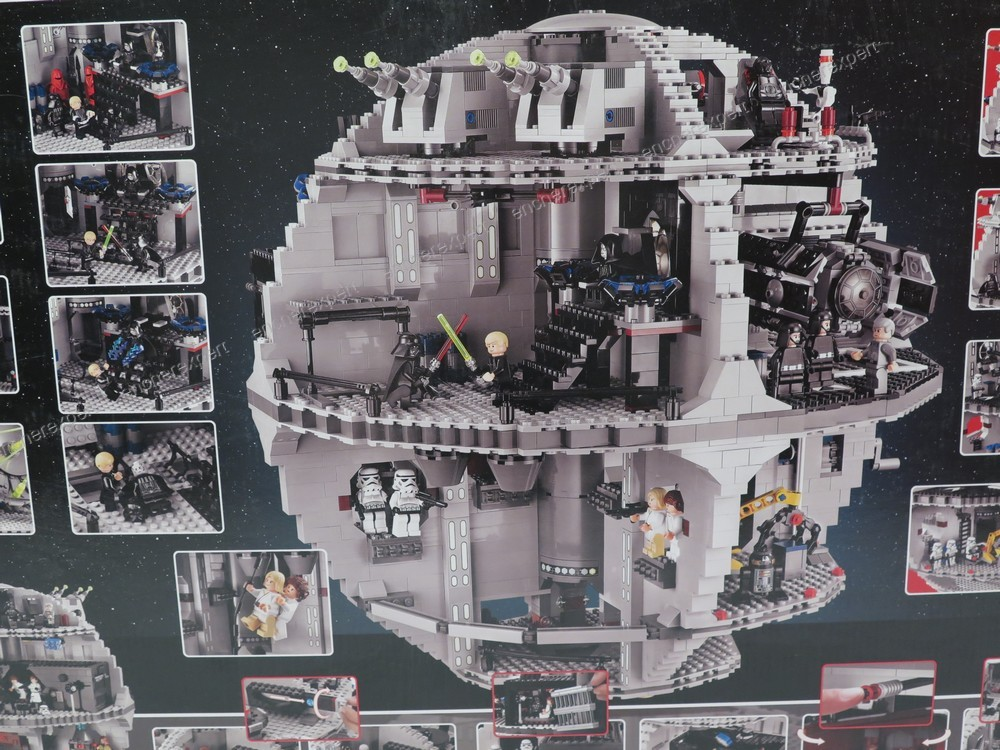 Neuf scelle jeu construction lego star wars l for Neuf construction