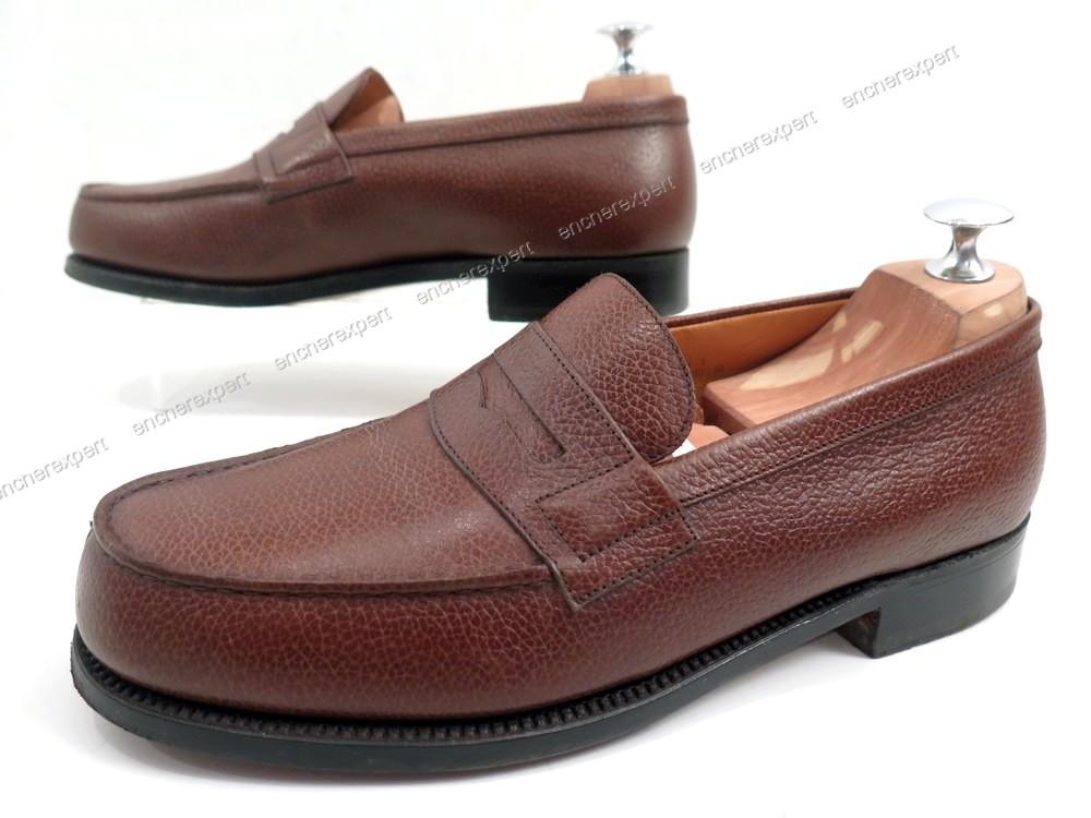 tout neuf 9fd45 1a8af Neuf chaussures jm weston 180 mocassins 6e 40.5 en ...