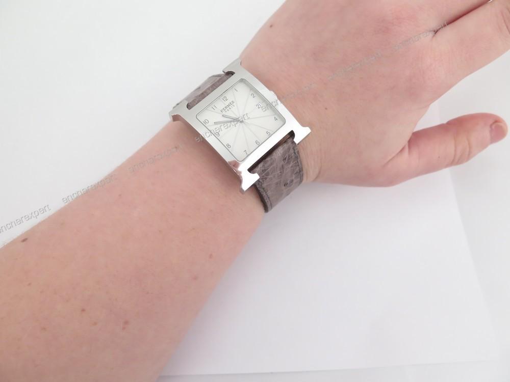 Bracelet montre homme hermes