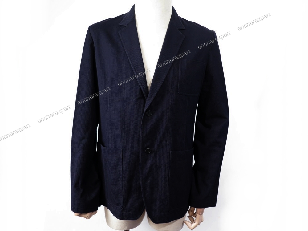 veste d ete givenchy blazer homme 54 l en coton authenticit garantie visible en boutique. Black Bedroom Furniture Sets. Home Design Ideas