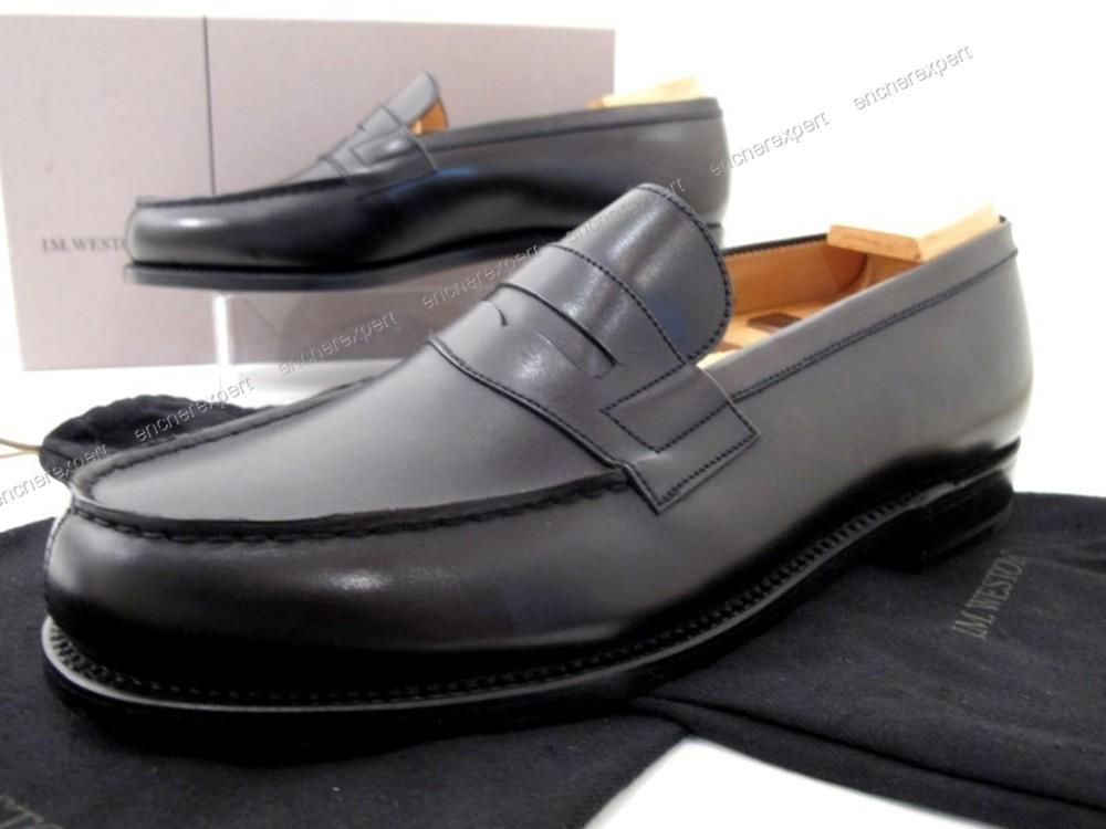 magasin en ligne 1f85a 3ebee Neuf chaussures jm weston 180 mocassins 8.5c 42.5 ...