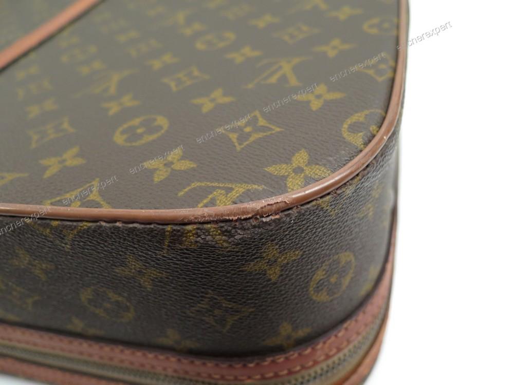 vintage valise de tennis louis vuitton sac a main - authenticit u00e9 garantie