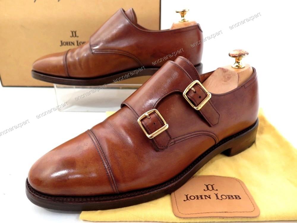 Chaussures john lobb souliers bi boucle william - Authenticité ... a7586c0bffb