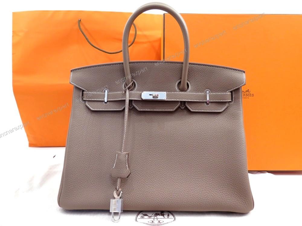 ad99120047 Neuf sac a main HERMES birkin 35 cm en cuir togo - Authenticité garantie -  Visible en boutique