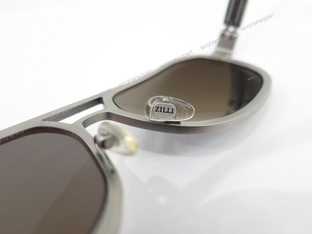 neuf lunettes de soleil zilli pablo satin authenticit garantie visible en boutique. Black Bedroom Furniture Sets. Home Design Ideas