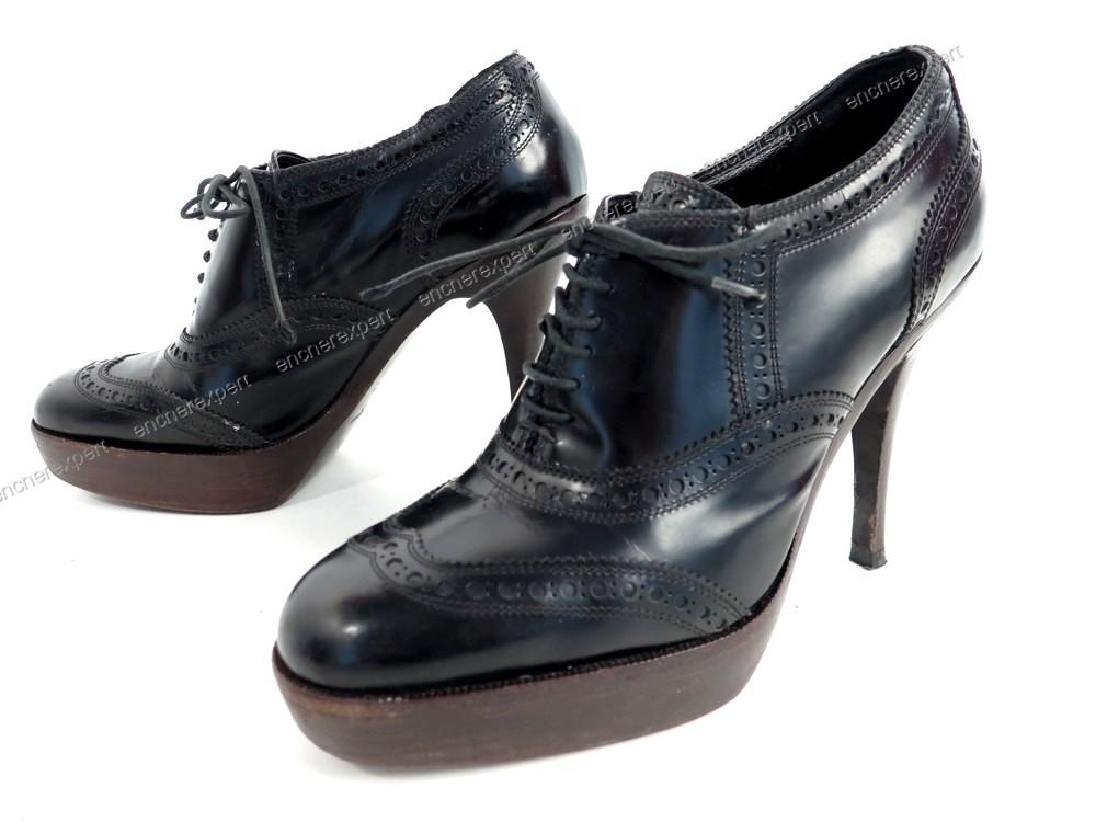 5 Chaussures Laurent Saint Escarpins Yves Authenticité Ysl 36 exBodC