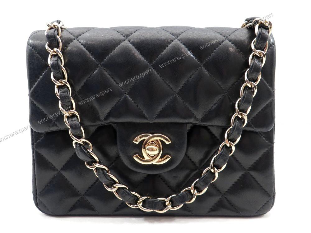 Sac a main CHANEL mini timeless cuir matelasse - Authenticité garantie -  Visible en boutique c553da92e37
