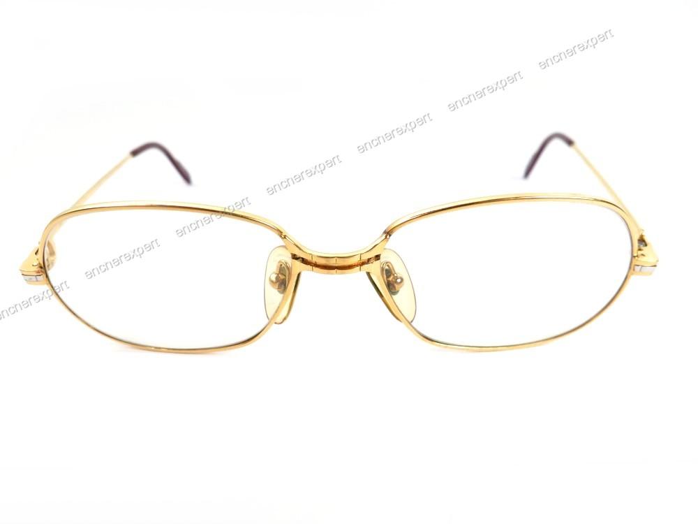 2777d0fff7604a Vintage lunettes de vue monture cartier 135 metal - Authenticité garantie -  Visible en boutique