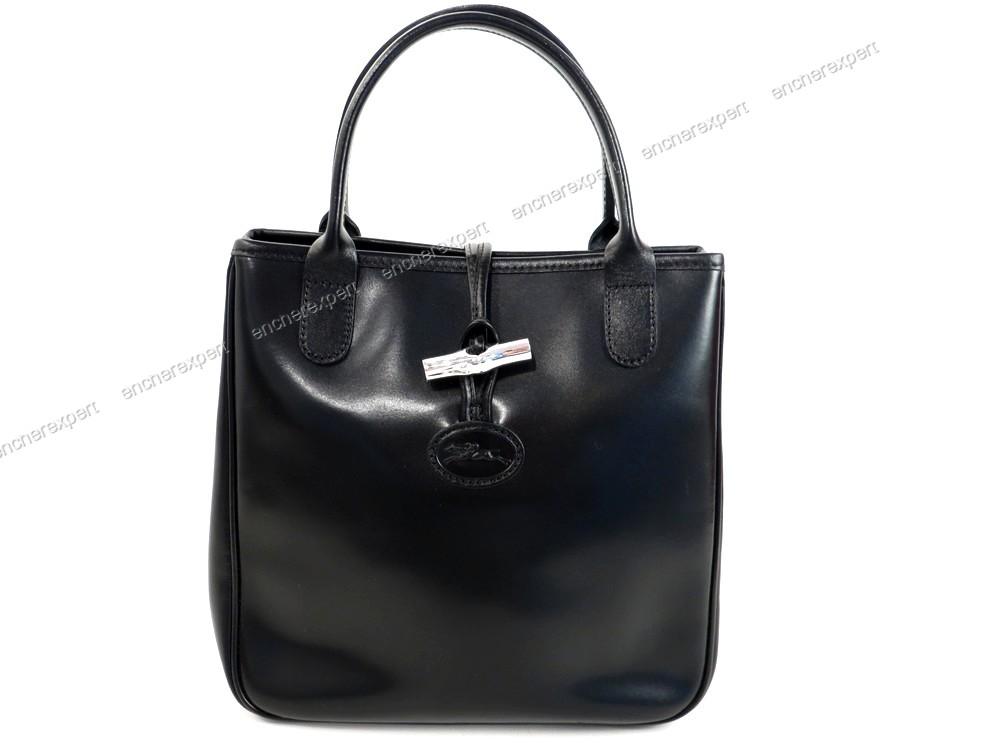 della Leather Reed Longchamp borsa Autenticità Cabas Mini TBnxZ0Tfw