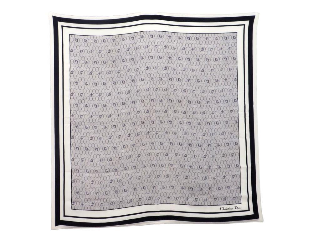 prix incroyables Baskets 2018 profiter du prix le plus bas Vintage foulard christian DIOR carre en soie nid d ...