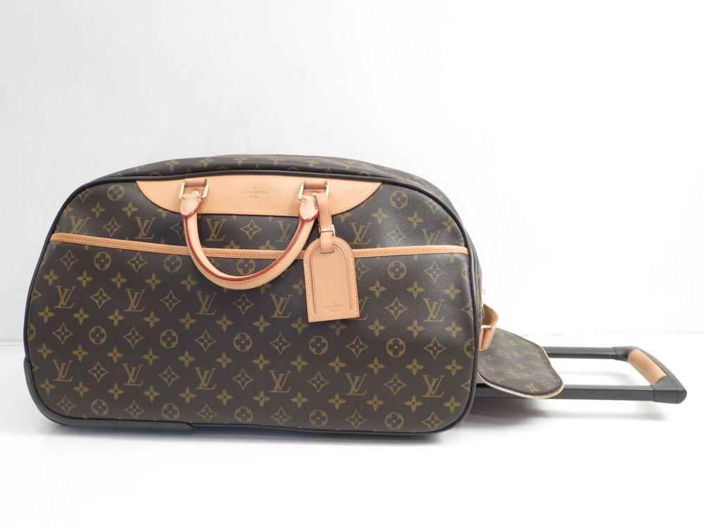 neuf valise a roulette louis vuitton eole 50 sac authenticit garantie visible en boutique. Black Bedroom Furniture Sets. Home Design Ideas