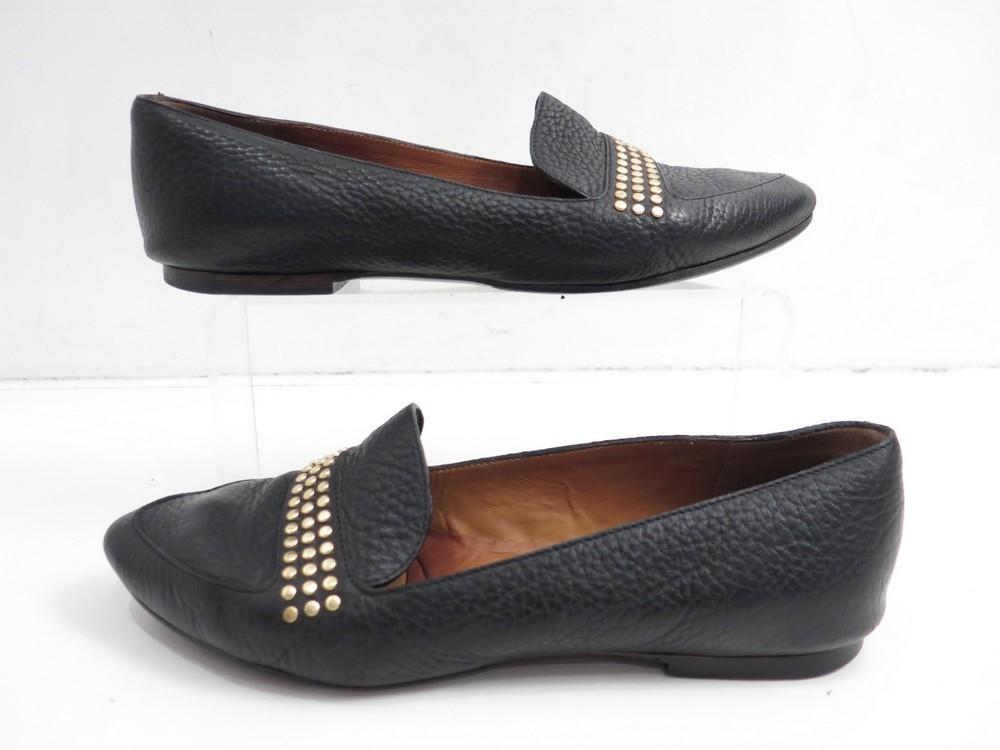 chaussures chloe ballerines 38 en cuir noir femme authenticit garantie visible en boutique. Black Bedroom Furniture Sets. Home Design Ideas