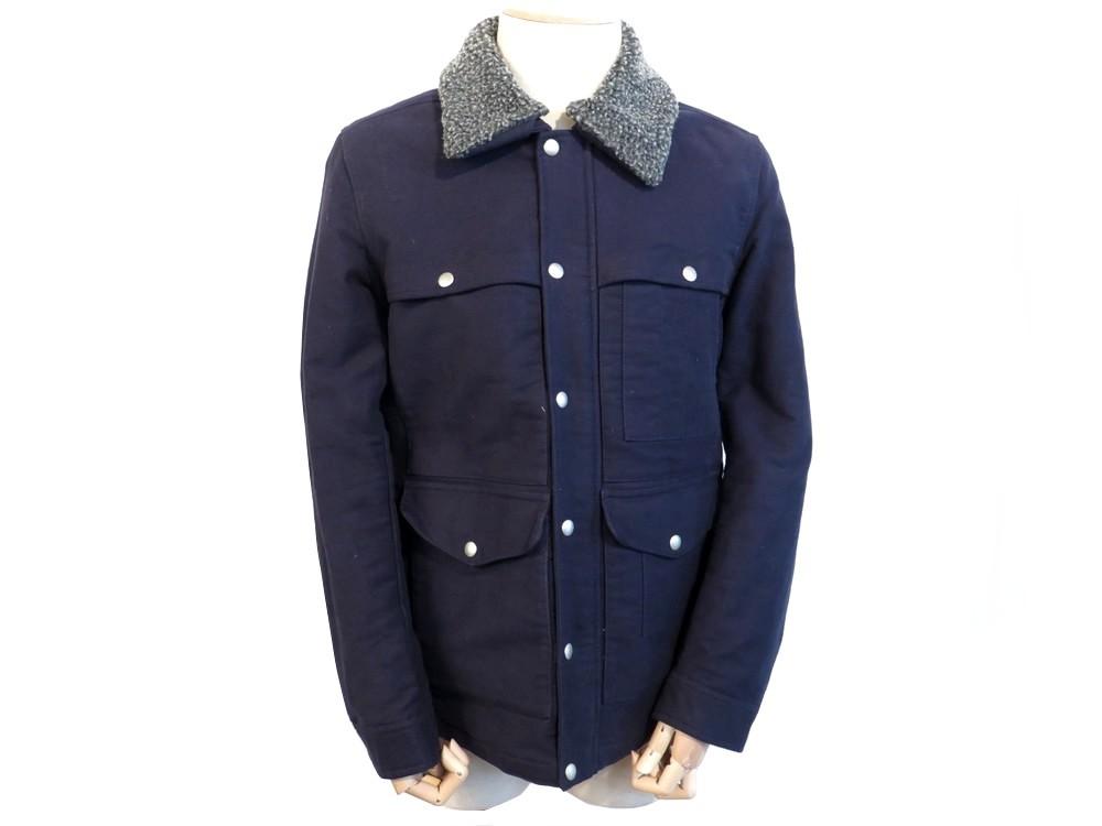 1d6924529 Manteau blouson gant the barn jacket 52 54 l coton - Authenticité ...