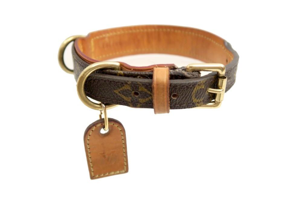 93b4a86d9fd Collier pour chien LOUIS VUITTON baxter pm 2.4cm - Authenticité garantie -  Visible en boutique