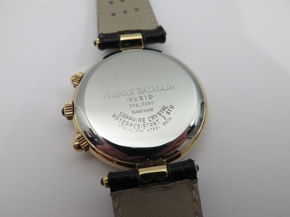 order los angeles size 7 Neuf montre pierre balmain chronographe 542.5980 ...