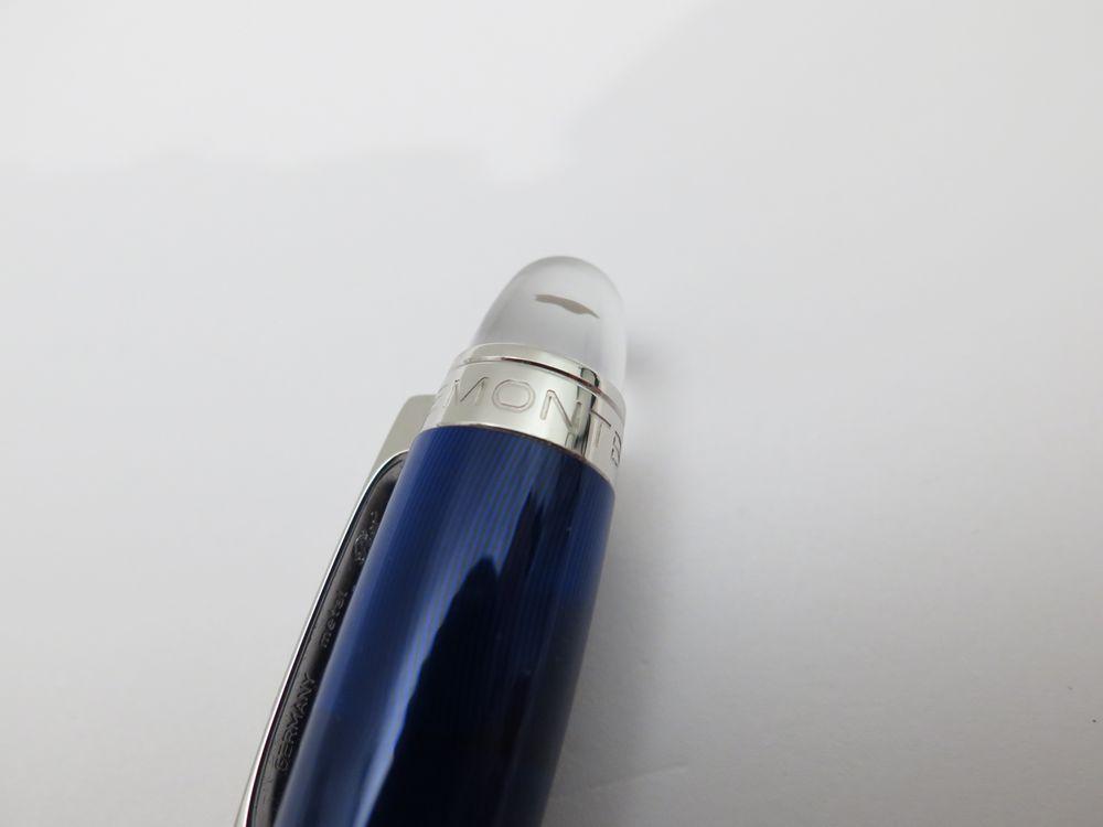 stylo mont blanc starwalker cool blue