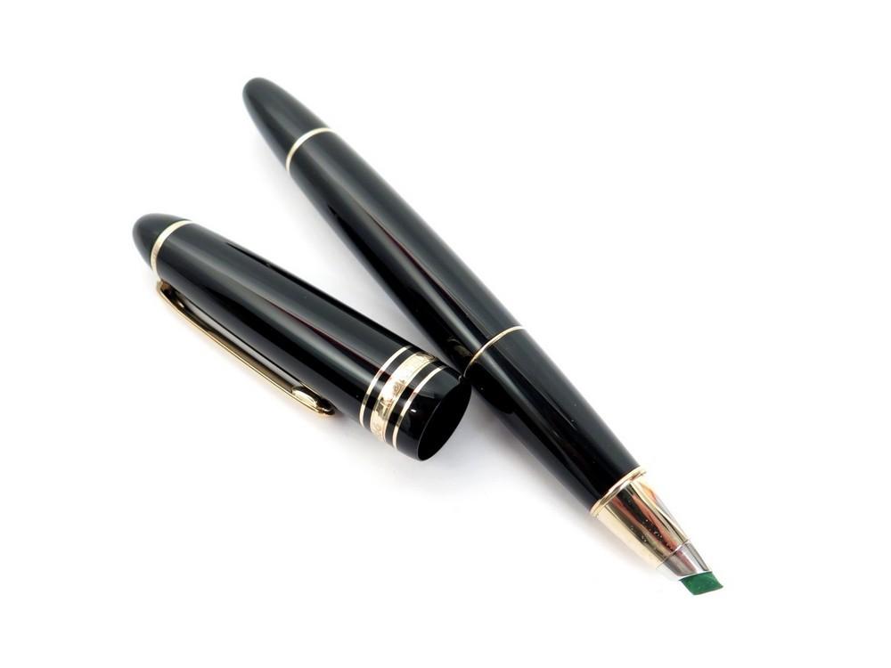 neuf stylo surligneur montblanc meisterstuck authenticit garantie visible en boutique. Black Bedroom Furniture Sets. Home Design Ideas
