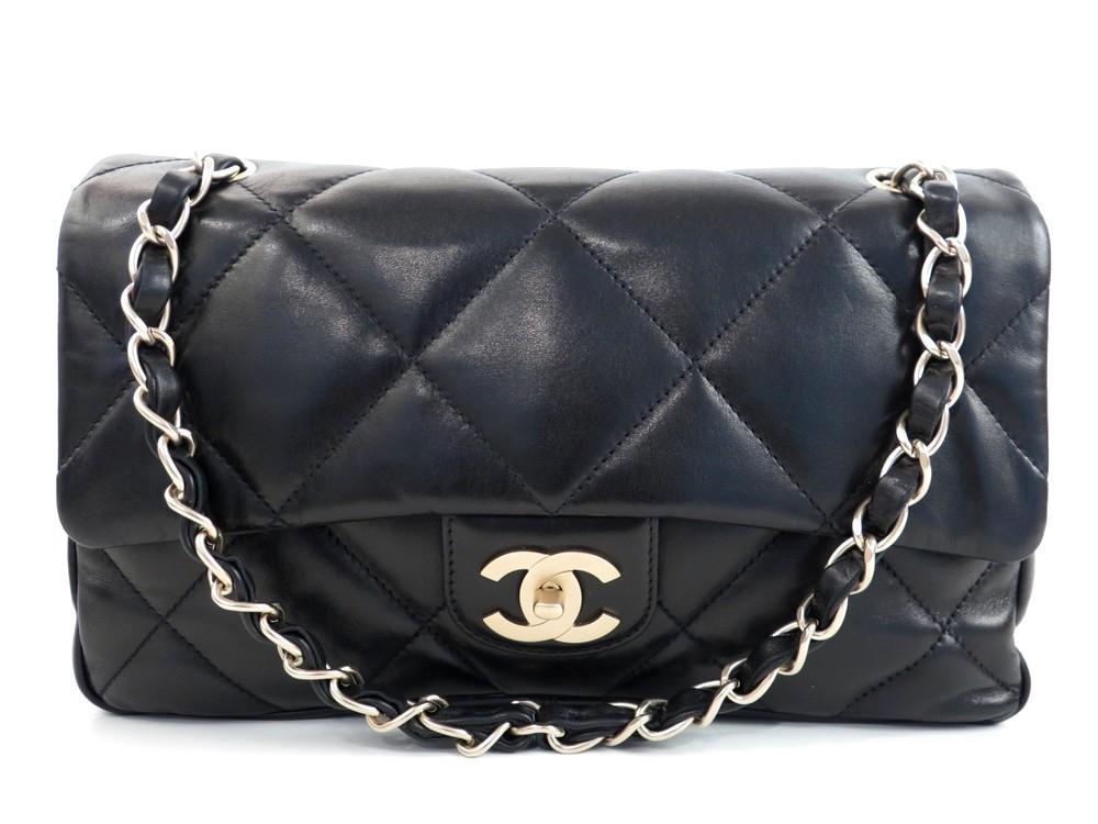 neuf sac a main chanel timeless en cuir d authenticit garantie visible en boutique. Black Bedroom Furniture Sets. Home Design Ideas