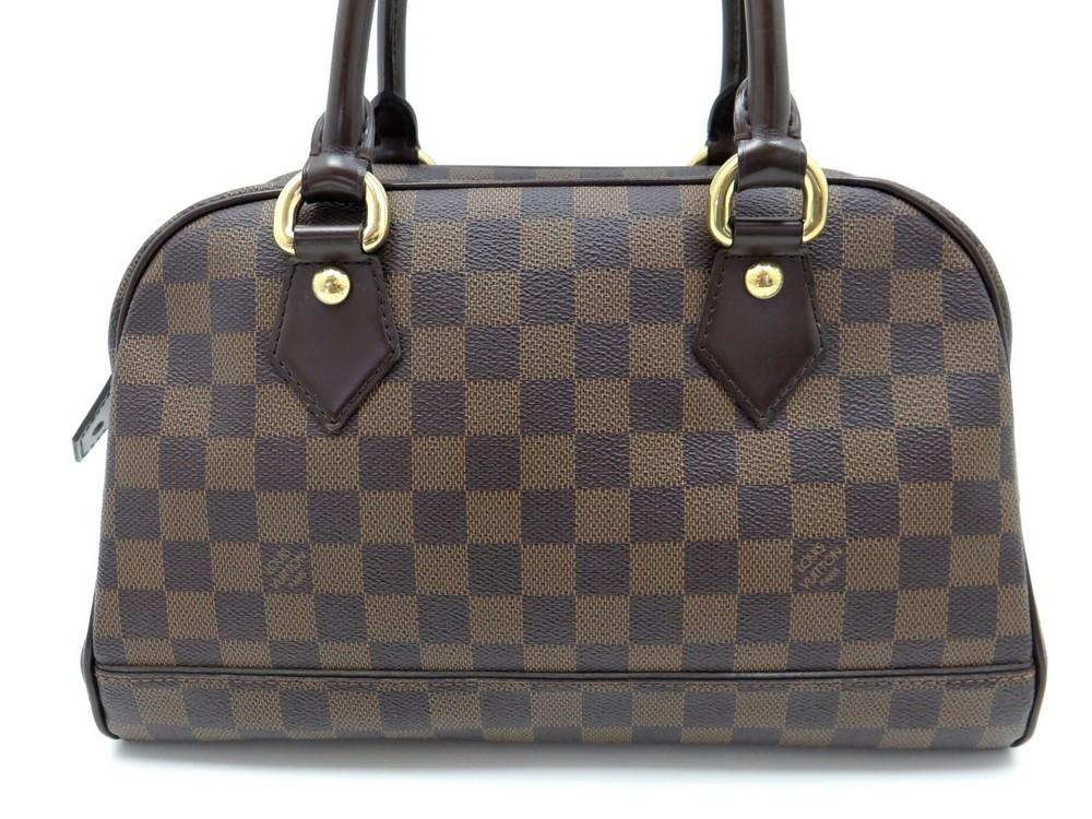 650d6a9b54 Sac a main LOUIS VUITTON duomo en toile damier - Authenticité garantie -  Visible en boutique