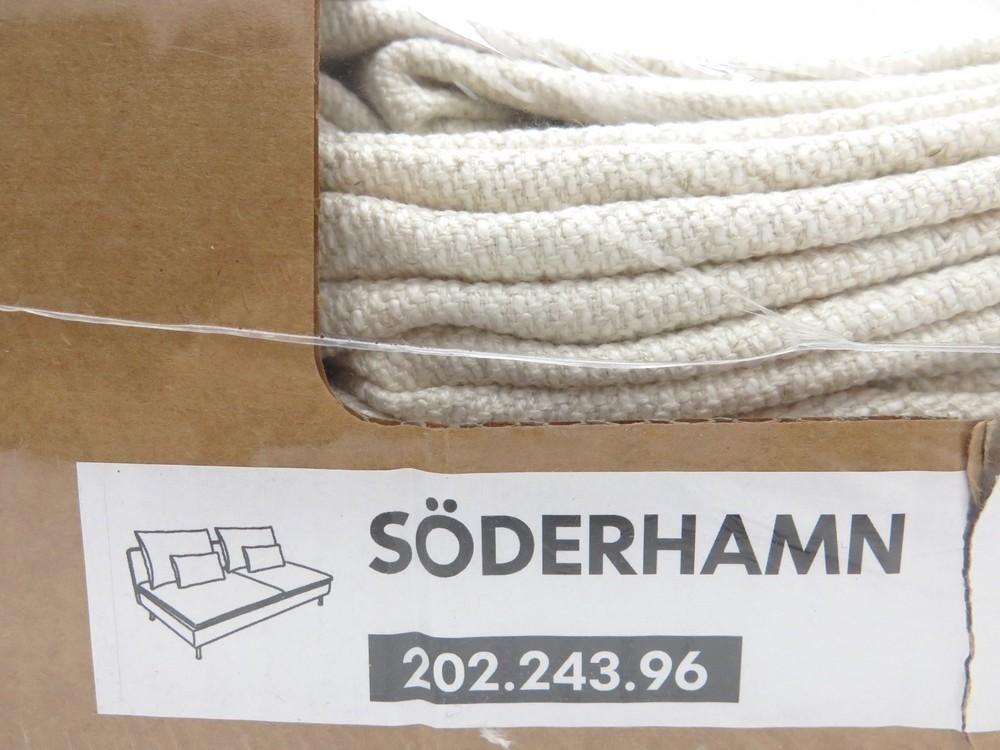 neuf housse pour canape 2 places ikea soderhamn authenticit garantie visible en boutique. Black Bedroom Furniture Sets. Home Design Ideas