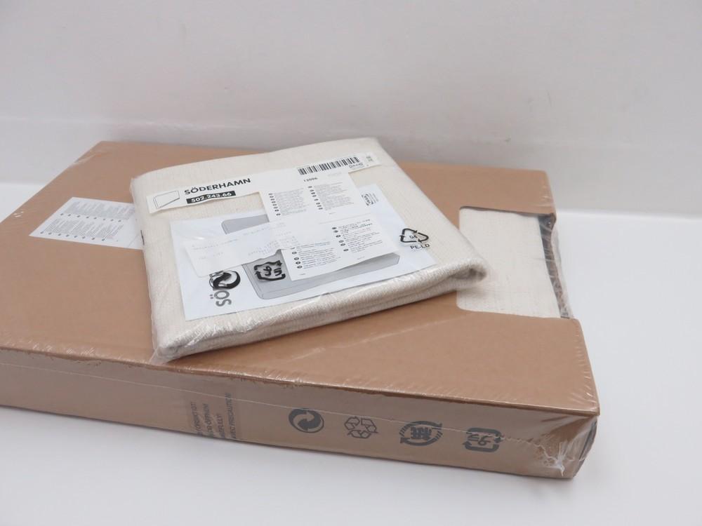 neuf housse canape ikea soderhamn 1 authenticit garantie visible en boutique. Black Bedroom Furniture Sets. Home Design Ideas