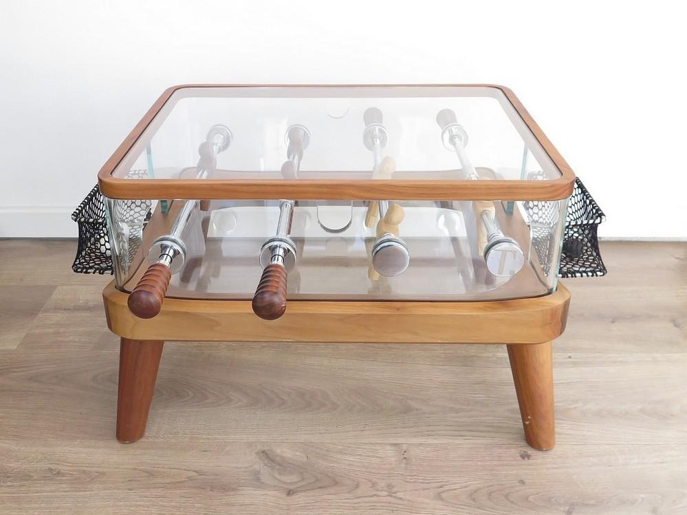 rare babyfoot teckell intervallo table basse en authenticit garantie visible en boutique. Black Bedroom Furniture Sets. Home Design Ideas