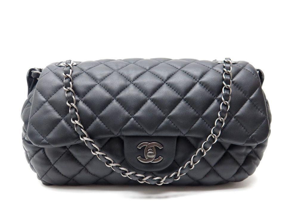 neuf sac a main chanel timeless bandouliere cuir authenticit garantie visible en boutique. Black Bedroom Furniture Sets. Home Design Ideas