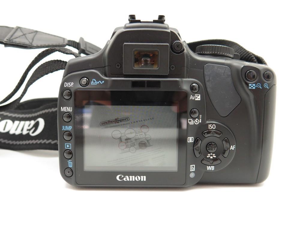 appareil photo numerique canon 400d reflex authenticit garantie visible en boutique. Black Bedroom Furniture Sets. Home Design Ideas
