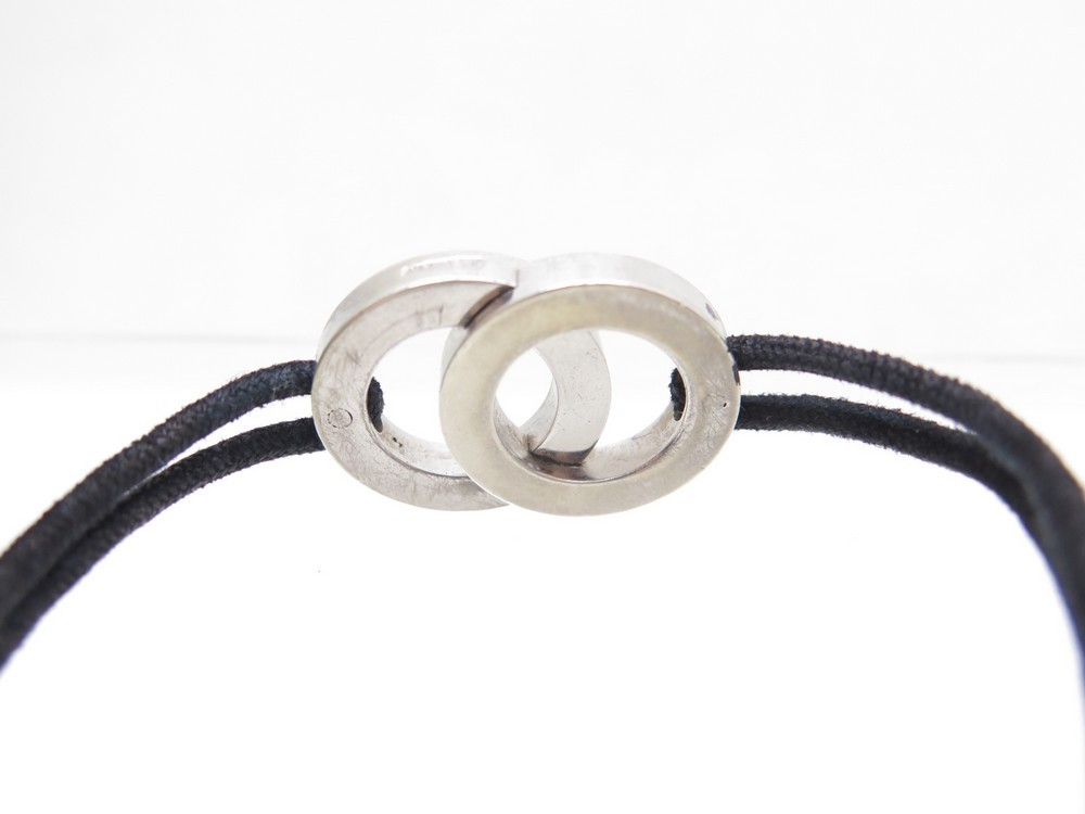 Bracelet cordon bulgari homme